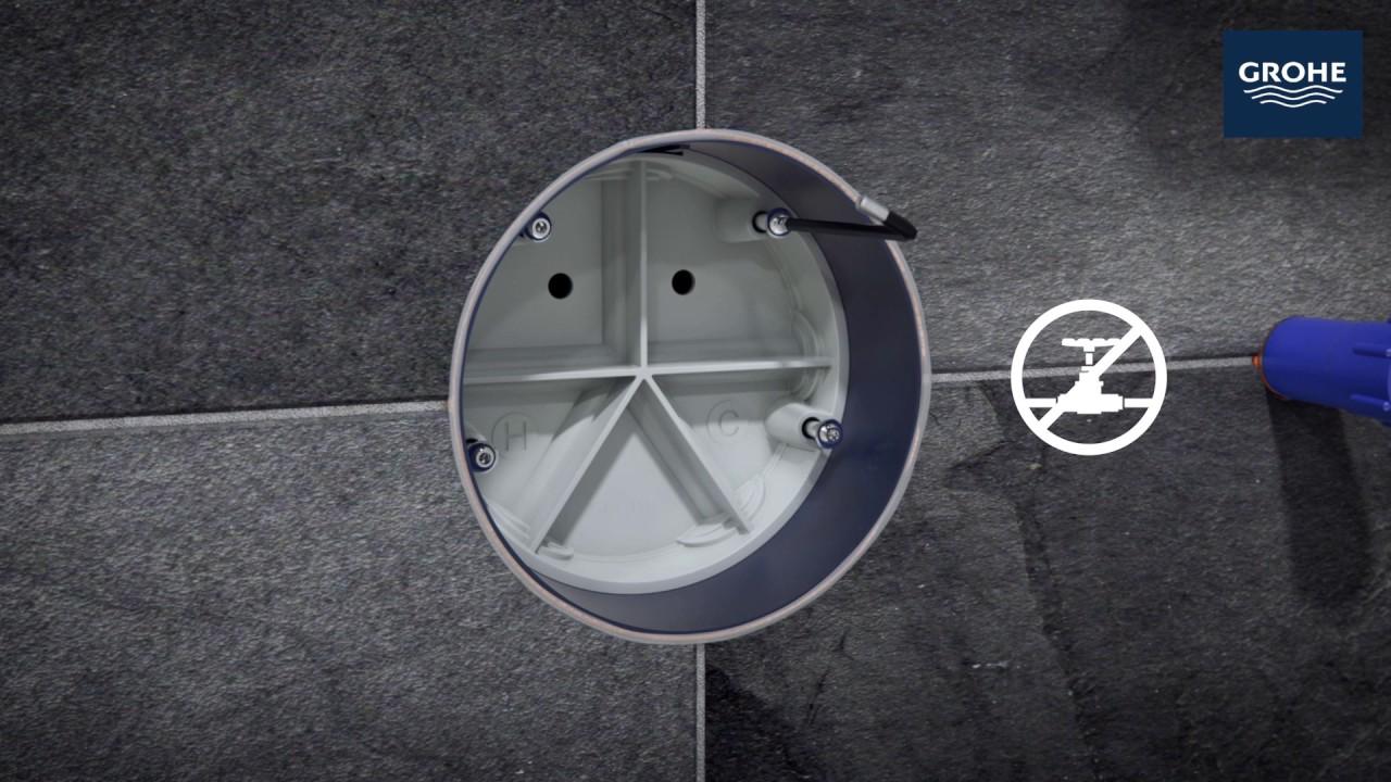 GROHE   Rapido SmartBox   Installation Video