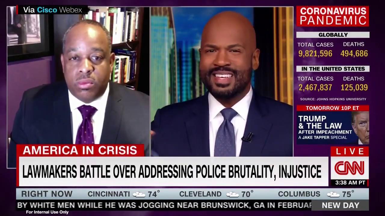 Dr. Howard Henderson on CNN New Day