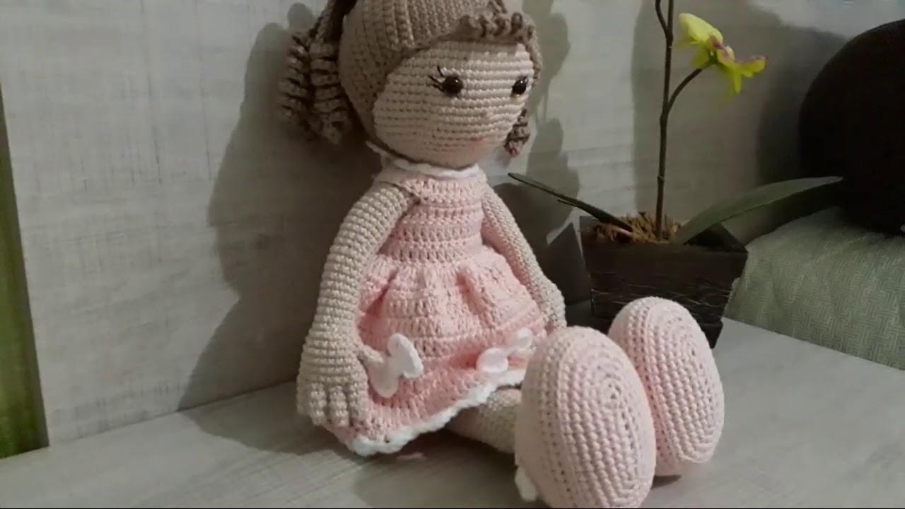 Amigurumi Crochê - Boneca de Pano Brisa - 100% algodão | Bonecas ... | 720x1280