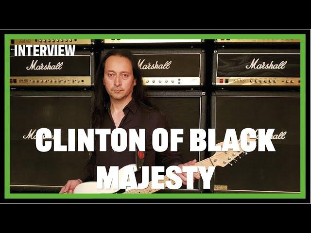 Meet Clinton Bidie, New guitarist for BLACK MAJESTY