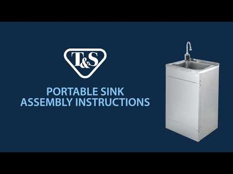 How To: Assembling T&S Portable Sinks