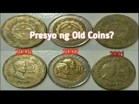 Part2. PRESYO ng 5 PESO COIN | 5 COIN | 10 COIN| OLD COINS | Lumang Pera Rare Coins