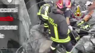 Coraggio Genova. Crollo del ponte Morandi