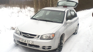 Kia Cerato Тест-драйв по бездорожью зимой