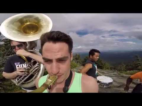 Funky Dawgz Brass Band @ Grandfather Mountain, NC - (Happy by Pharrell)
