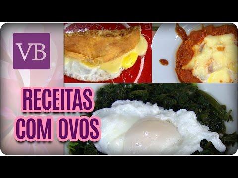 Receitas Low Carb Com Ovos Para o Inverno - Você Bonita (09/05/17)