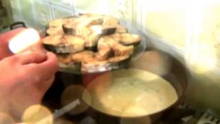 How To Cook Fish With A White Wine Cream Sause