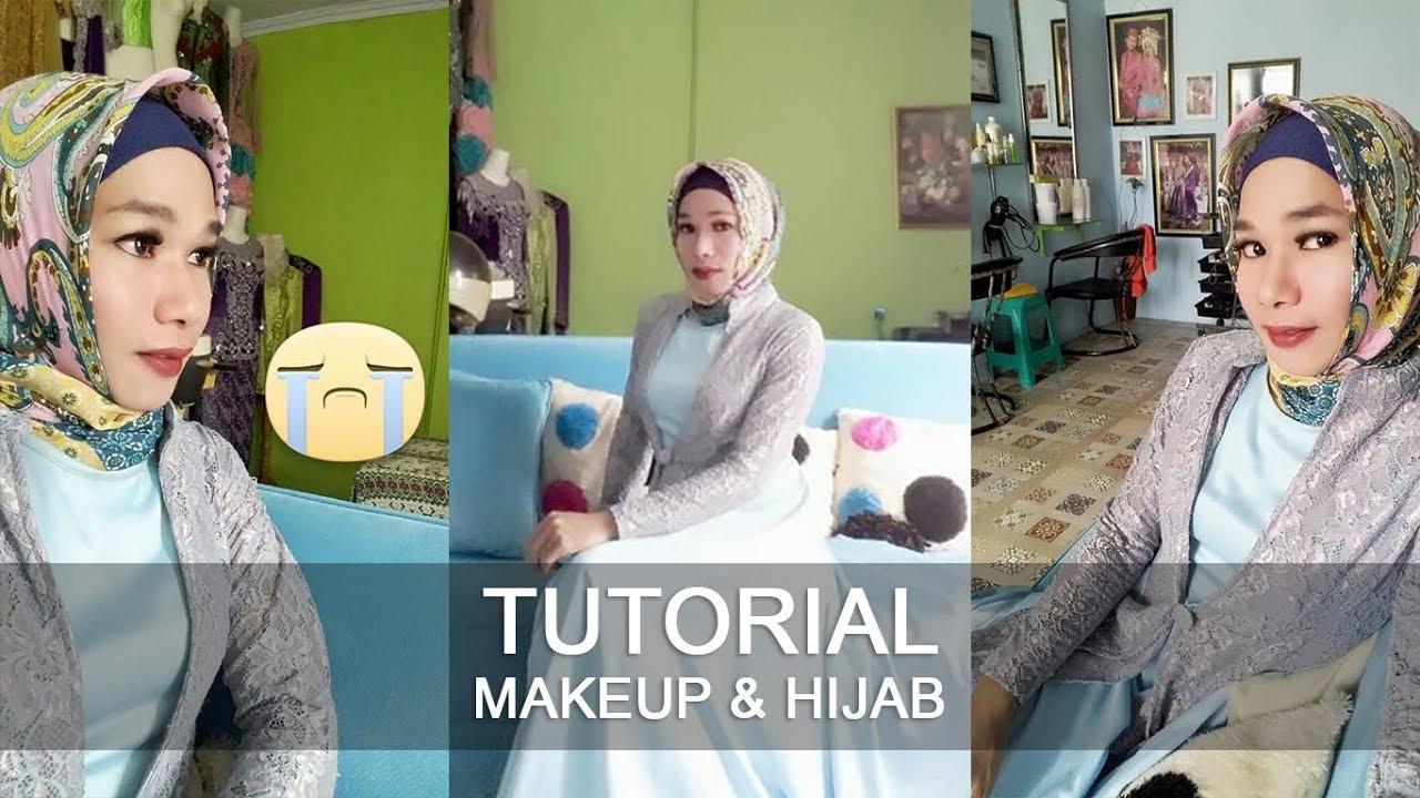 Ratna Mangali - Tutorial Makeup & Hijab (Crossdresser) #1