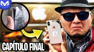 IPHONE X DESTROZADO VS APPLE STORE