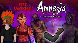 AMNESIA: Stuck In a Basement with Monsters (w/SpaceCrash) - Spooky Friday