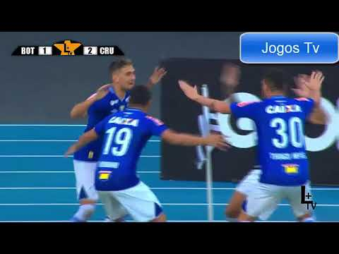 Botafogo 2 x 2 Cruzeiro - Melhores Momentos & Gols - 03/12/2017