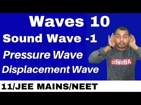 Waves10 : Sound Waves - Introduction II Pressure Wave and Di