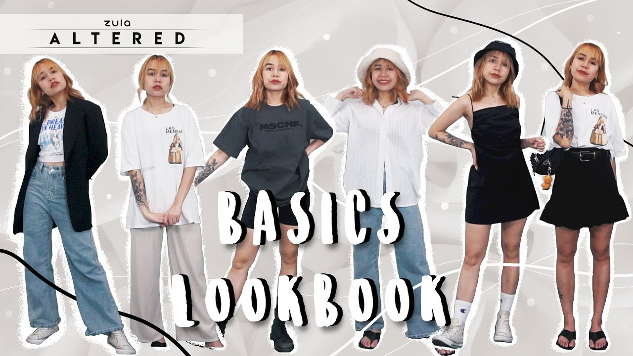 How To Style Basics - 19 Outfits   ZULA Altered   EP 10