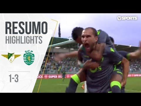 Highlights | Resumo: Moreirense 1-3 Sporting (Liga 18/19 #1)