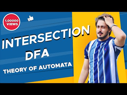 #16 intersection of two dfa   Theory of automata