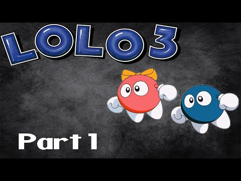 Let's Play The Adventures of Lolo 3! Part 1
