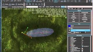 """CryEngine 3 Урок 2 """"создание дороги,Реки,Растительности"""""""