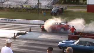 2001 Pontiac Grand Prix Turbo GTP - FWD Drag Race - Edgewater