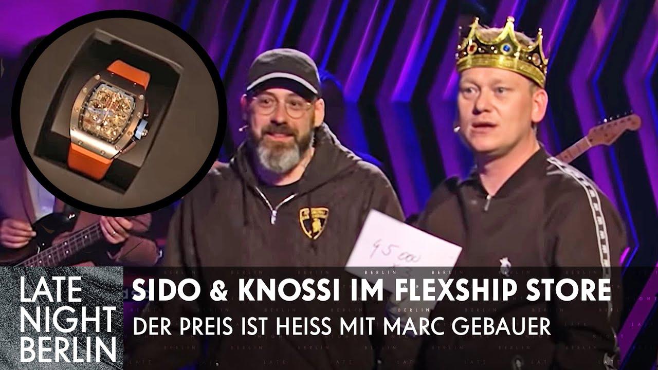 Sido & Knossi raten Preise von Luxus-Uhren: Flexen mit Marc Gebauer | Late Night Berlin | ProSieben
