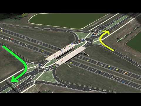 Viera Boulevard Proposed Diverging Diamond Interchange