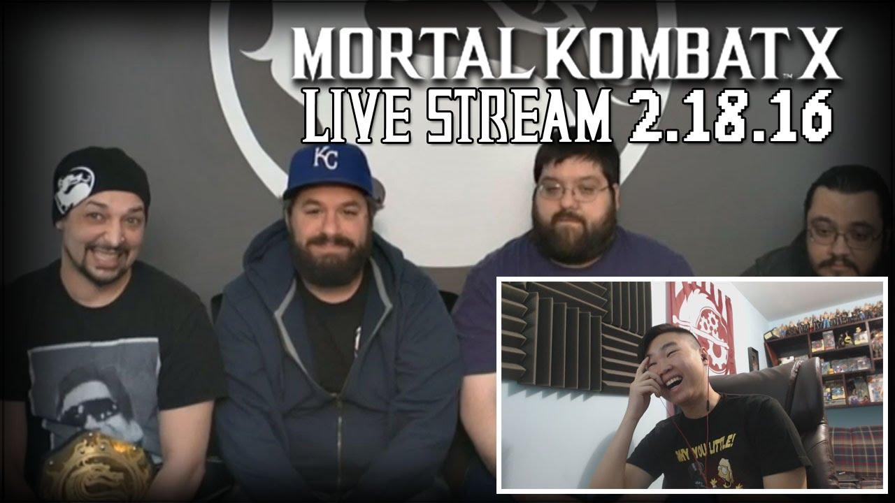 kombat 16 stream