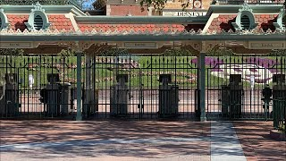 More Signs Of Disneyland Reopening Soon | Hand Sanitizing Stations At Entrance Of Both Parks