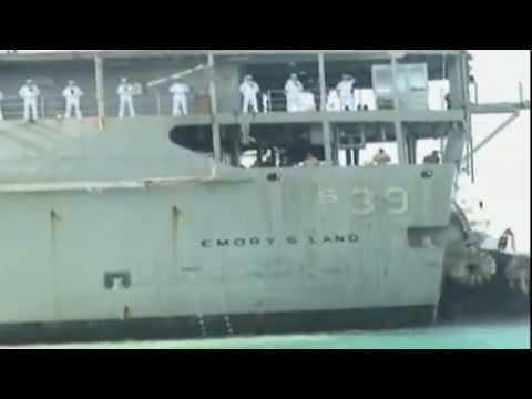 USS Emory S. Land Arrives in Guam