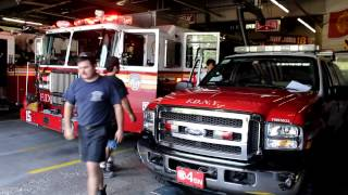 "FDNY HD - ""Fort Pitt"" Engine 15 Battalion 4 Responding to a Fire Alarm"