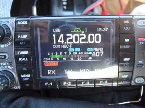 HF DX conversation N2YDD/m with S53IV. New York w/ Slovenia on 20 meters