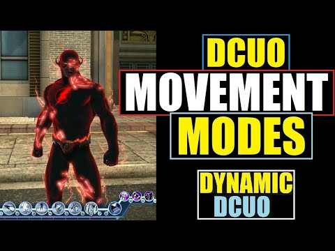 DCUO Movement Modes - Acrobatics - Flight - Skimming - Super Speed - DC Universe Online