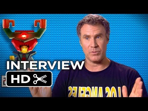 The Lego Movie Interview - Will Ferrell President Business (2014) - Morgan Freeman HD