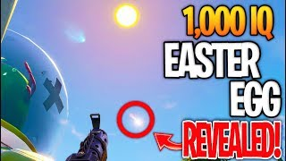 FORTNITE METEOR 1,000 IQ EASTER EGG! THE SECRET REVEALED...