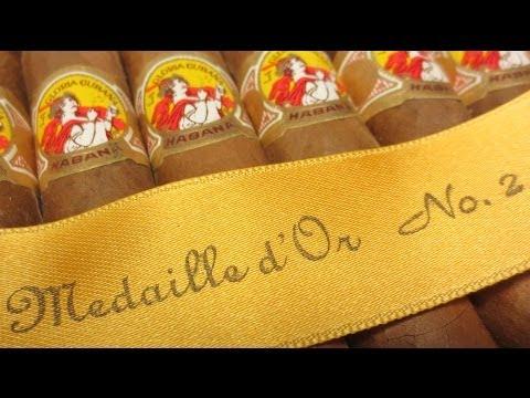 La Gloria Cubana Medaille d'Or No 2 Cigar Reviews Ep26 Pt1