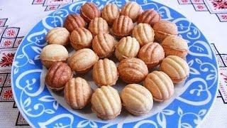 Орешки со сгущенкой рецепт Печенье орешки Тесто для орешков Горішки рецепт рецепт орешков орешков