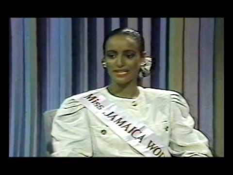 Sandra Foster Miss JAMAICA World 1991 Interview on JBC TV