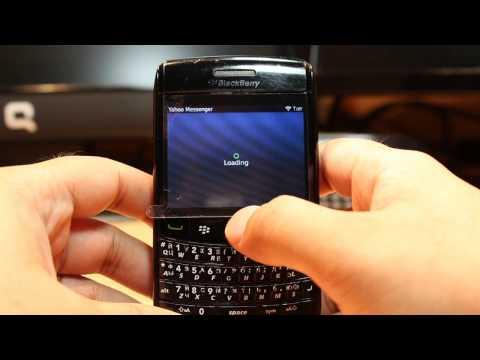 Yahoo Messenger Install To Blackberry Bold 9780