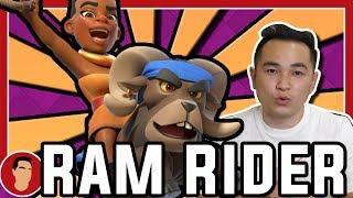 Dneska si vyzkoušíme novou kartu Ram Rider! Jak se vám líbí napište...