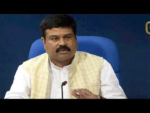 Press Conference by Petroleum Minister Sh Dharmendra Pradhan