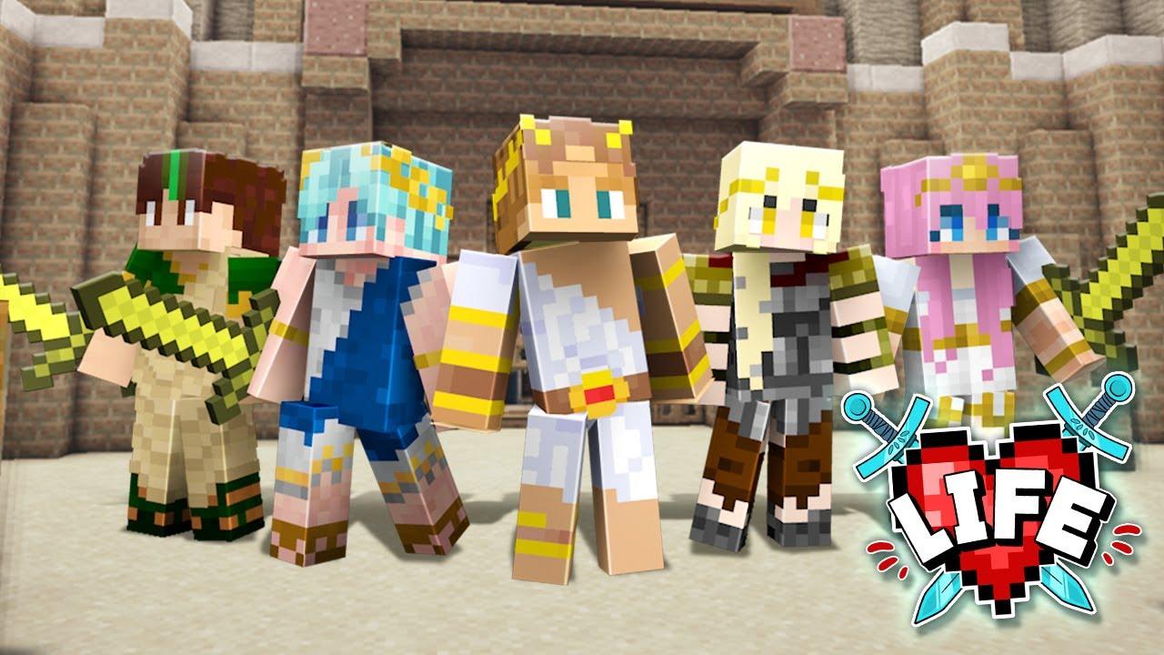 Insane Colosseum Battle Challenge! | Minecraft X Life #21