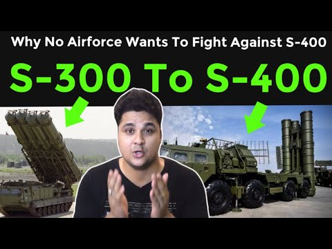 From S300 To S400 | Why No Airforce Wants To Fight Against It?