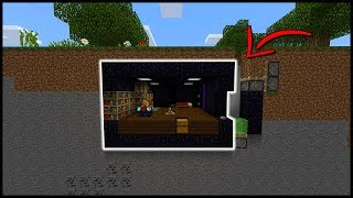 Undetectable Bunker Base in Minecraft