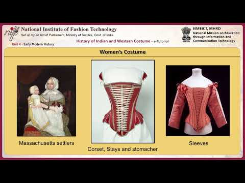 History of Indian and western costumes: early modern history-2