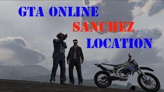 GTA Online Sanchez Location