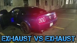 4.0 V6 Mustang Exhaust Ethan BOSSE Vs Just Uh 4.0 V6 Mustang Exhaust VS Exhaust Friendly Battle