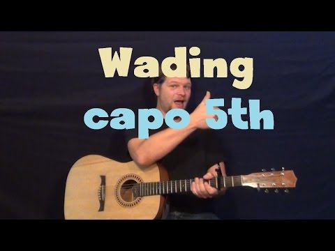 Wading (Jhene Aiko) Easy Guitar Lesson How to Play Tutorial