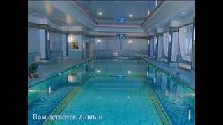 укладка мозаики в бассейне видео