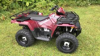 Behind The Scenes: 2017 Polaris Sportsman 450 Utility Edition
