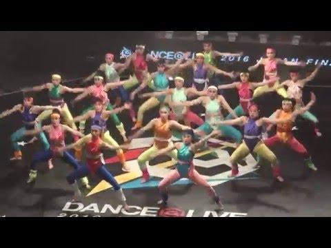 2016.4.24 大阪府立登美丘高等学校 / TDC DANCE @LIVE JAPAN FINAL 2016