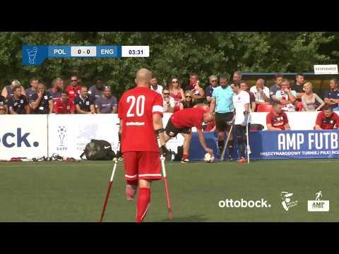 Polska v Anglia - finał Amp Futbol Cup 2017 (Poland v England Final)