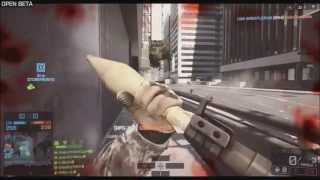 BF4 Beta - Acr Gameplay | Best Beta Gun ?